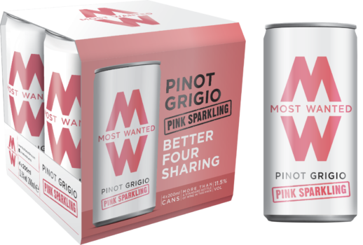 Pinot Grigio Pink Lightly Sparkling Cans