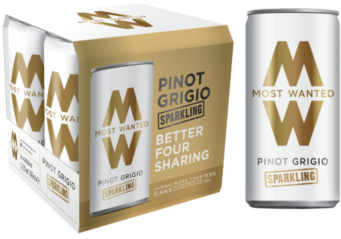 Pinot Grigio Lightly Sparkling Cans